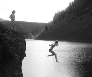 girl, jump, and summer image