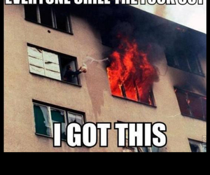 funny and fire image