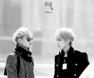 exo, kris, and tao image