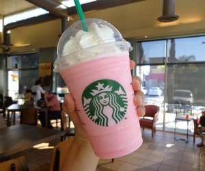 starbucks and cotton candy frappe image