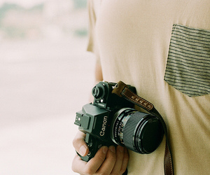 canon, photography, and boy image
