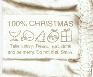 100%, relax, and christmas image