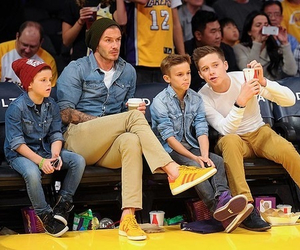 boy, beckham, and David Beckham image