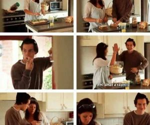 cook, mum, and Harry Styles image