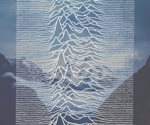 joy division, mountains, and hipster image