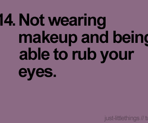 quote, makeup, and eyes image