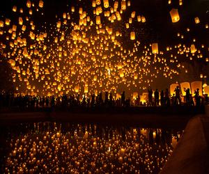 lanterns, light, and night image