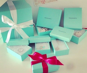 gift, tiffany, and blue image