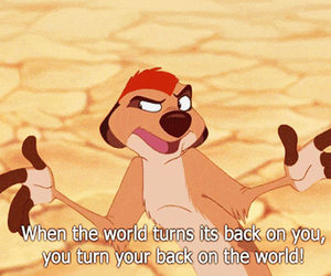 quote, timon, and lion king image