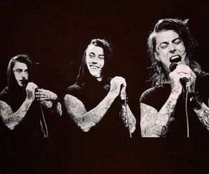 ronnie radke and falling in reverse image