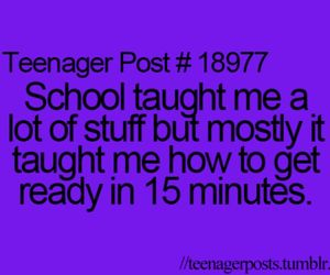 funny, true, and school image