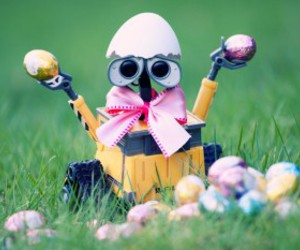 easter and wall-e image