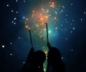 light, night, and stars image