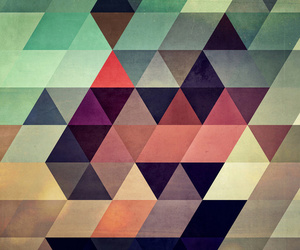 triangle, colors, and wallpaper image