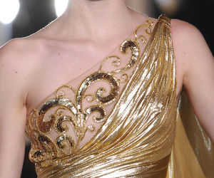 Couture, grecian, and evening gown image
