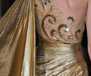 gold and Zuhair Murad image