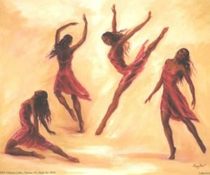 dance, modern, and sketch image