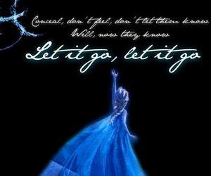 frozen, let it go, and elsa image