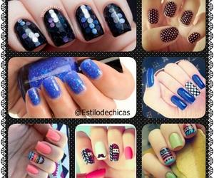 cool, style, and nails image