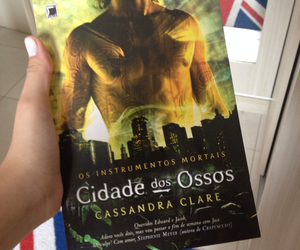 book, livro, and mortal instruments image