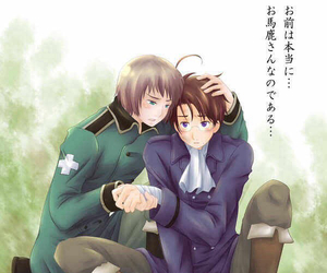 Ausswiss Hetalia And Edelweiss Image