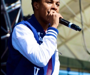 performance, rapper, and diggy simmons image