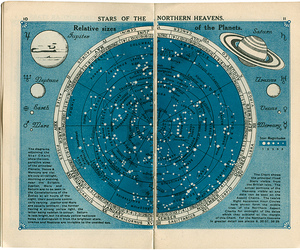 stars, planet, and universe image