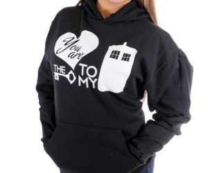 doctor who, sweater, and tardis image