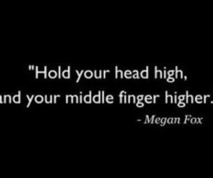 megan fox, high, and quote image