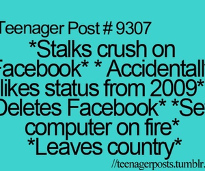 teenager post, crush, and facebook image