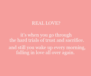 love, quote, and real love image