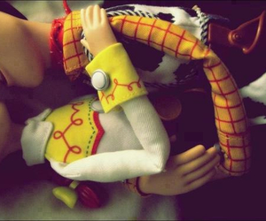 love, toy story, and woody image