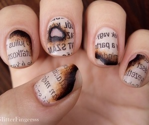 beautiful, nails, and loved image