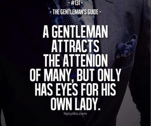 quotes, gentleman, and lady image