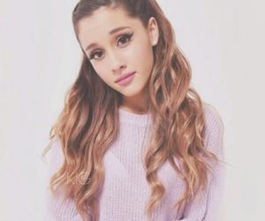blonde, brown, and arianagrande image