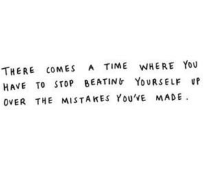 quotes, text, and mistakes image