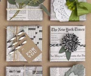 christmas, gift, and wrapping image