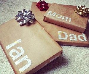 gift, christmas, and decoration image