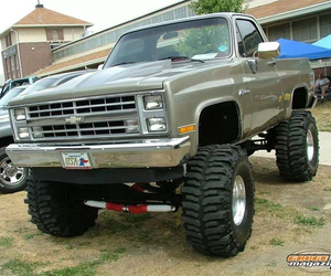 big, chevy, and country image