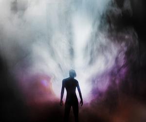 alien, fog, and light image