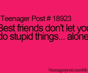 best friends, alone, and teenager image