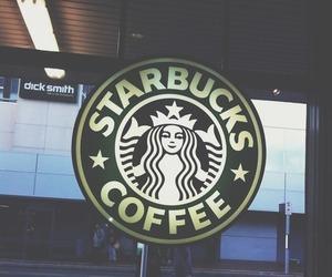 starbucks, coffee, and vintage image