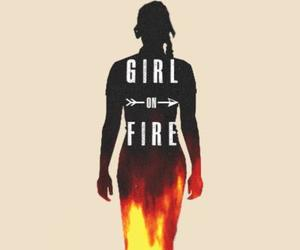 girl on fire image