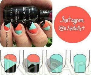 nails, beautiful, and tutorial image
