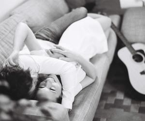 beautiful, couple, and feelings image