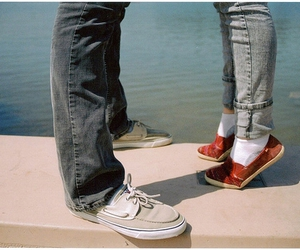 boy, shoes, and toes image