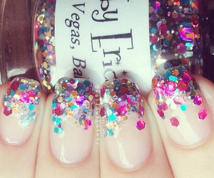 gorgeous, nails, and sparkle image
