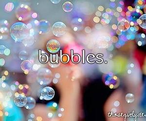 bubbles, summer, and love image
