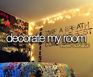 room, decorate, and before i die image