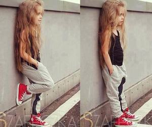 girl, swag, and kids image